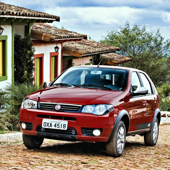 La Palio è l'auto più venduta in Brasile. E lì Fiat vende più del doppio che in Italia