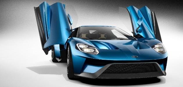 Ford GT 2015 apertura porte