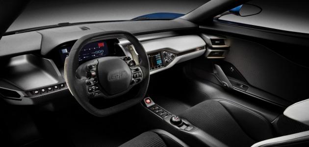 Ford GT 2015 interno