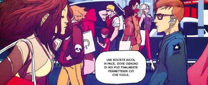 """LRNZ, il fumettista romano immagina il futuro del nostro Paese in """"Golem"""""""