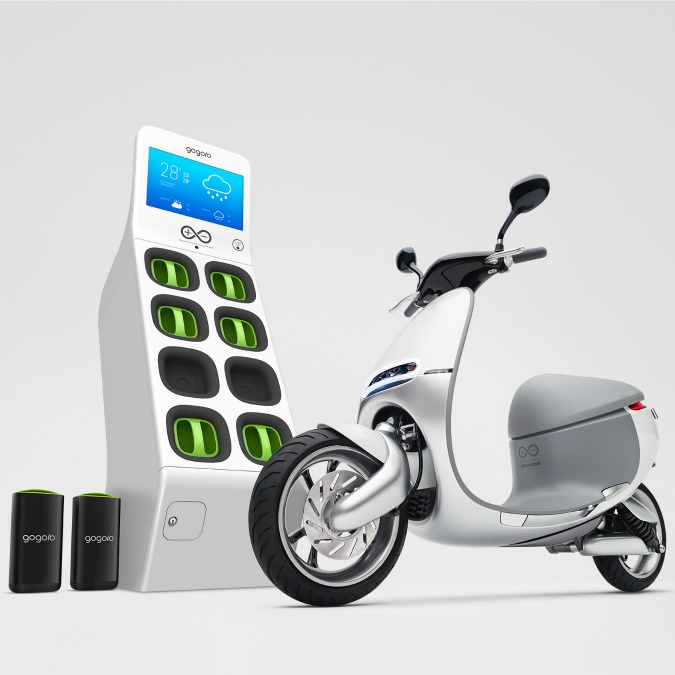 Gogoro Scooter+, il motorino elettrico che cambia batteria al volo