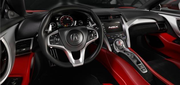 Honda NSX 2015 interno