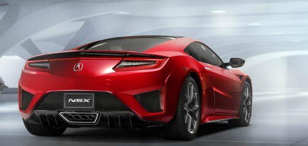 Honda NSX 2015 post