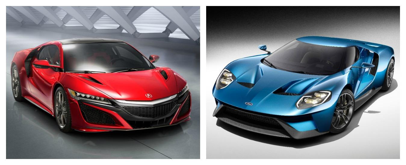 """Ford GT e Honda NSX, il ritorno delle supercar """"proletarie"""""""