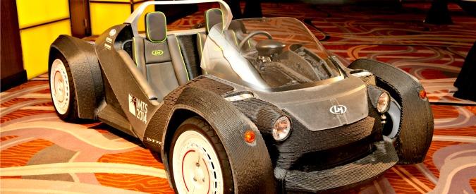 E se l'auto del futuro si stampasse in 3D? Dall'Arizona l'idea delle micro-fabbriche