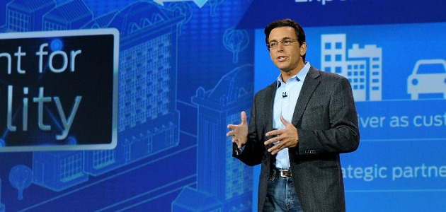 Mark Fields ad Ford Ces 2015