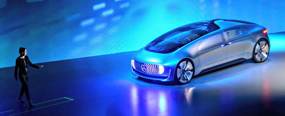 Mercedes F 015, l'auto del futuro è un salotto. Guidato dall'elettronica – Fotogallery