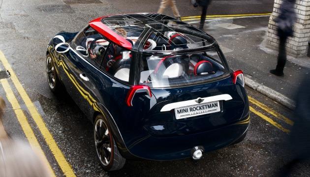Mini Rocketman 2012 posteriore