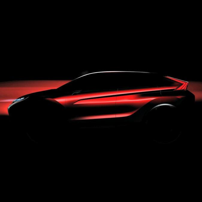 Mitsubishi concept laterale