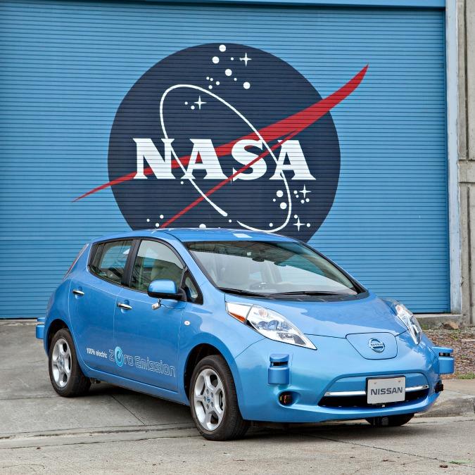 La Nissan e la Nasa collaborano per sviluppare i veicoli a guida autonoma