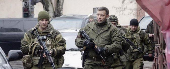 Ucraina, leader repubblica di Donetsk: 'Mobilitazione generale di 100mila uomini'