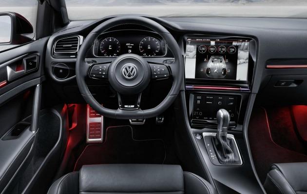 VW golf plancia