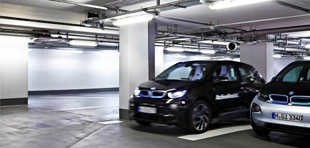Vallet Assist BMW parcheggio