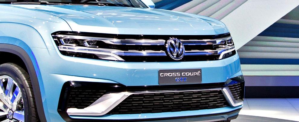Salone di Detroit 2015, Cross Coupé GTE: la faccia nuova di Volkswagen Usa – FOTO