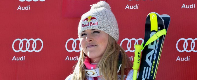 Lindsey Vonn, vince ancora a Cortina ed entra nella storia dello sci