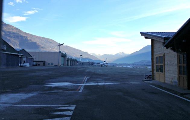 aeroporto aosta pista 2