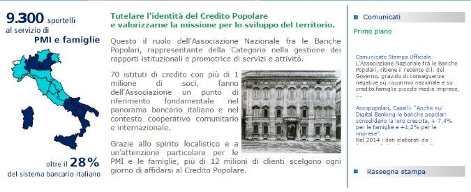 """Assopopolari contro la riforma di Renzi. """"Scritta per grandi banche straniere"""""""