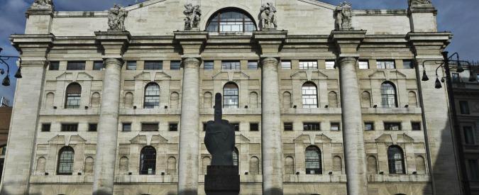 """Borse ancora in rosso, Milano a -3,2%. Messori: """"Servono iniziative forti per evitare che si torni al 2011″"""