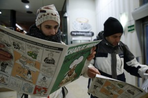 CHARLIE HEBDO GOES ON SALE