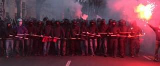 Cremona, vetrine sfasciate e assalto alla polizia locale al corteo antifascista