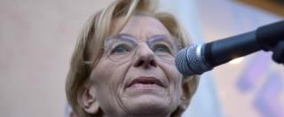 """Emma Bonino: """"Ho un tumore, ma non interromperò la mia attività politica"""""""