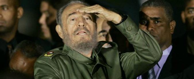 """Cuba, lettera di Fidel Castro: """"Non ho fiducia nella politica degli Stati Uniti"""""""