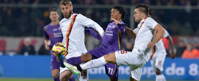 Fiorentina – Roma 1-1, un tempo a testa: a Mario Gomez risponde l'ex Adem Ljajic
