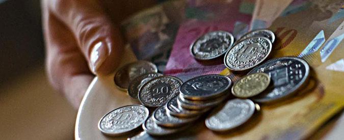Cambio euro franco svizzero libero, export a rischio e la Borsa di Zurigo crolla