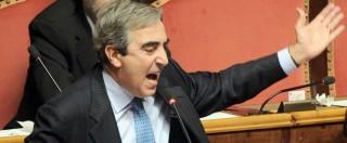 """Rai, il Gasparri furioso attacca Renzi: """"Figlio di massone, sei un imbecille"""""""