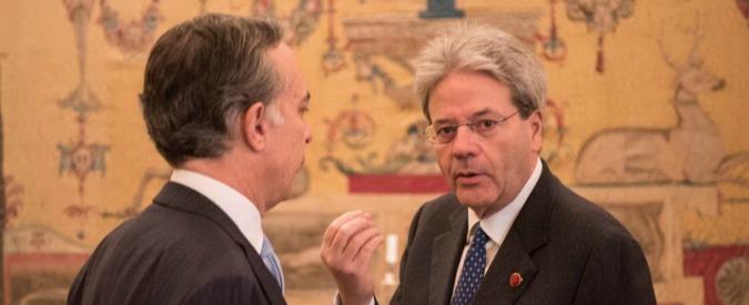 """Terrorismo, Gentiloni: """"Esiste notevole rischio infiltrazioni dall'immigrazione"""""""