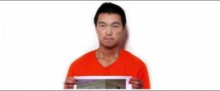 """Isis, nuovo video prigionieri giapponesi: """"Decapitato il mio compagno, salvatemi"""""""
