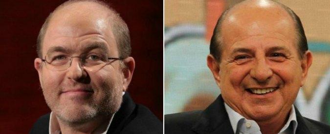 """Quirinale, il 'candidato' Magalli secondo Gramellini: """"E' l'uomo del Nazareno"""""""