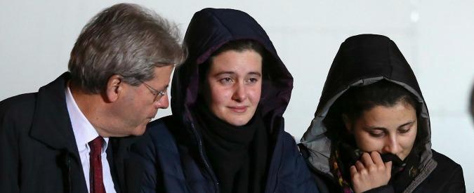"""Greta e Vanessa libere: """"Noi sequestrate per soldi, nessuna minaccia di morte"""""""