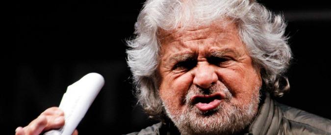 """Grillo: """"L'elettore tipo del Pd? Broker, finanziere o ex della Magliana"""""""