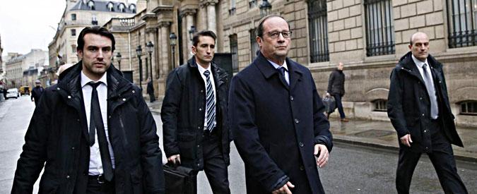Terroristi Parigi, Hollande a piedi dall'Eliseo al ministero dell'Interno – Gallery
