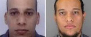 """Charlie Hebdo, """"a luglio stop sorveglianza dei Kouachi. Considerati 'a basso rischio"""