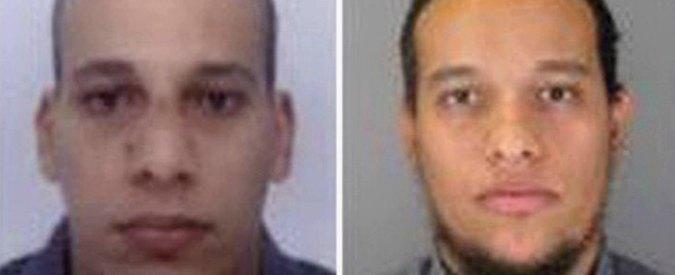 """Charlie Hebdo, """"a luglio stop sorveglianza dei Kouachi. Considerati 'a basso rischio'"""""""