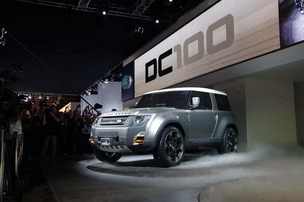 La concept DC 100 al Salone di Francoforte 2011