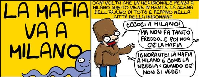 La mafia a Milano