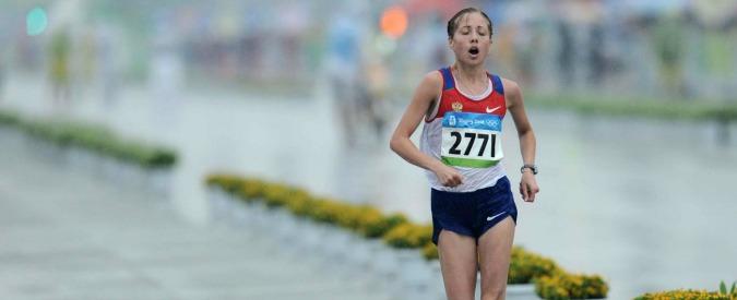 Marcia, tre ori olimpici russi sospesi per anomalie nel passaporto biologico