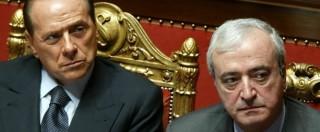 """Antonio Martino, Berlusconi: """"Nostro candidato al Quirinale"""""""