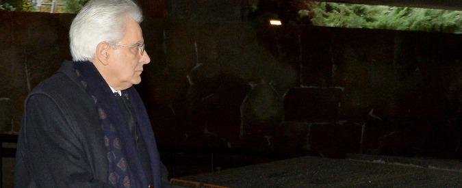 """Sergio Mattarella: """"Pensiero va alle speranze e alle difficoltà dei concittadini"""""""