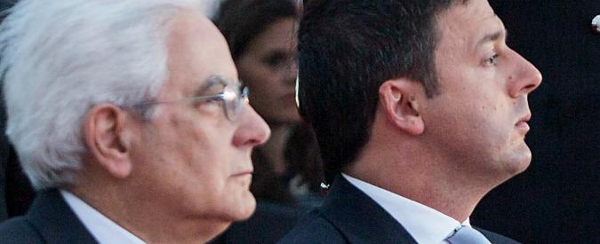 Sergio Mattarella e il piccolo Cesare