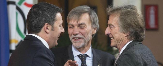 Montezemolo, Renzi lo vuole consigliere per investimenti. Ma i suoi vanno a rotoli