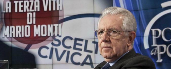 Monti voleva iscriversi al Gruppo Per le Autonomie,  i senatori si sono opposti