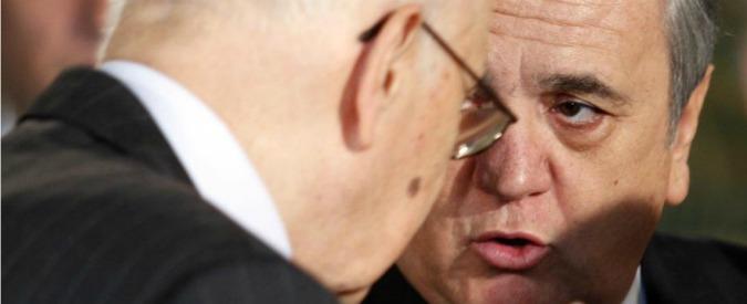 """Napolitano, Brunetta: """"Ha fallito"""". Civati: """"Poteva essere discorso di 8 anni fa"""""""