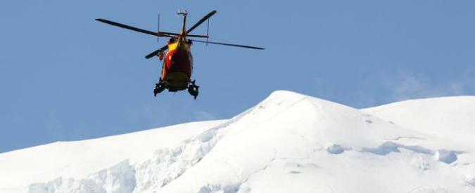 Valle d'Aosta, morto uno scialpinista italiano travolto da una valanga