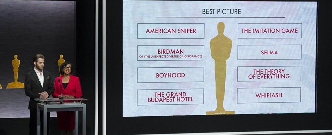 Nomination Oscar 2015, identikit del vincitore: bianco e uomo
