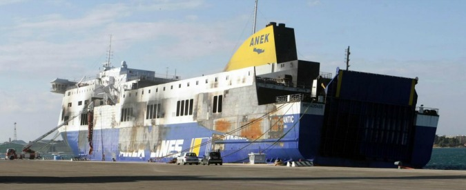 Norman Atlantic, ancora un incendio a bordo. Pm chiederà incidente probatorio