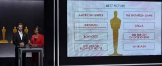 Oscar 2015, le nomination: Birdman e Grand Budapest Hotel i protagonisti